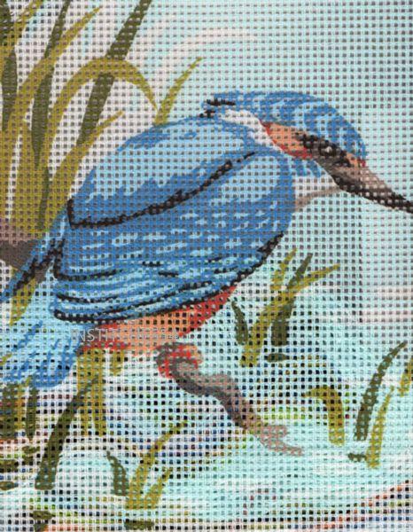 Kingfisher Tapestry Kit